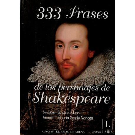 333 frases de los personajes de Shakespeare